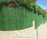 Vallas para jard n f brica de seto artificial madrid y for Cercados jardin
